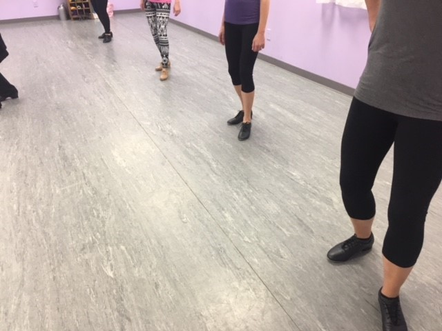 adult dance class