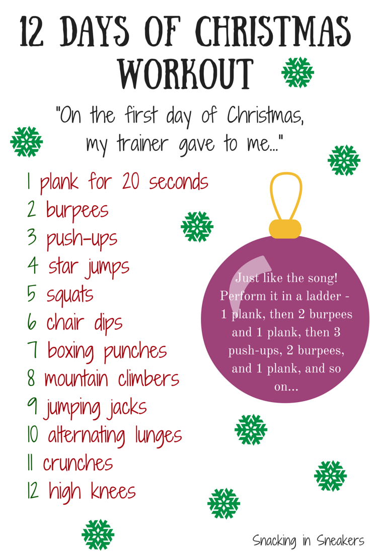 holiday challenge - When Is The 12 Days Of Christmas