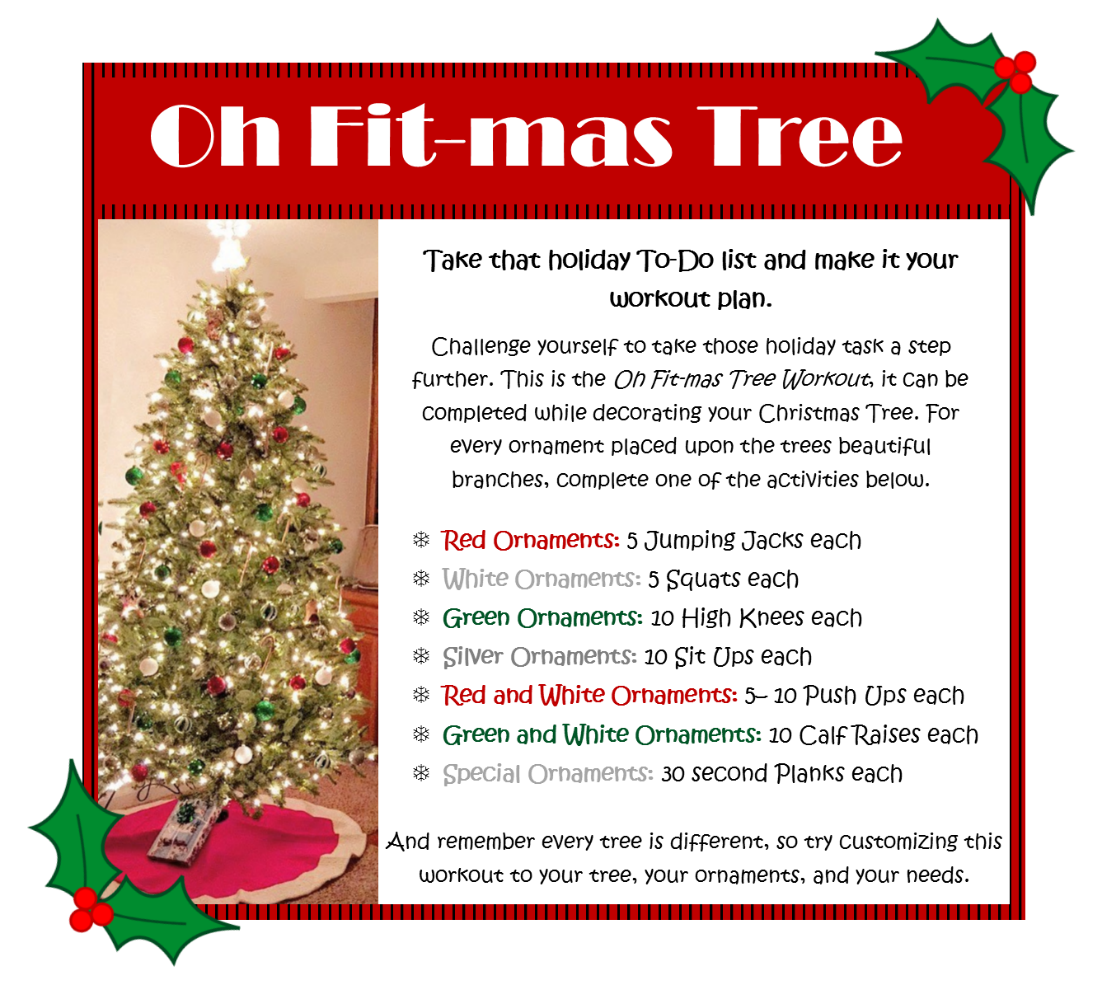 12 Days Of Christmas List.The 12 Days Of Christmas Workout Eat Smart Move More
