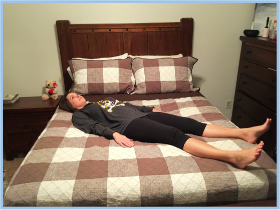 bed yoga
