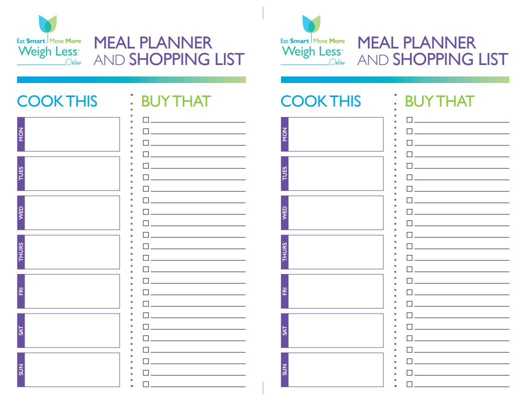 cook this buy that meal planner eat smart move more prevent diabetes