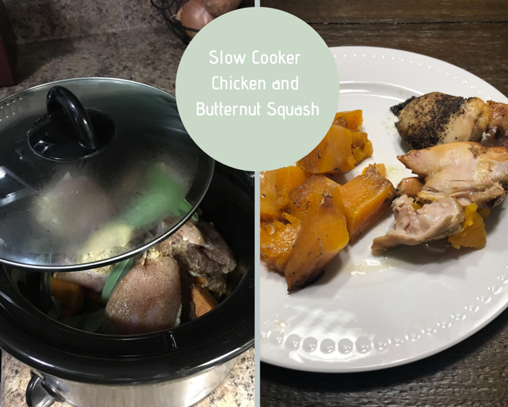 Slow Cooker Chicken and Butternut Squash