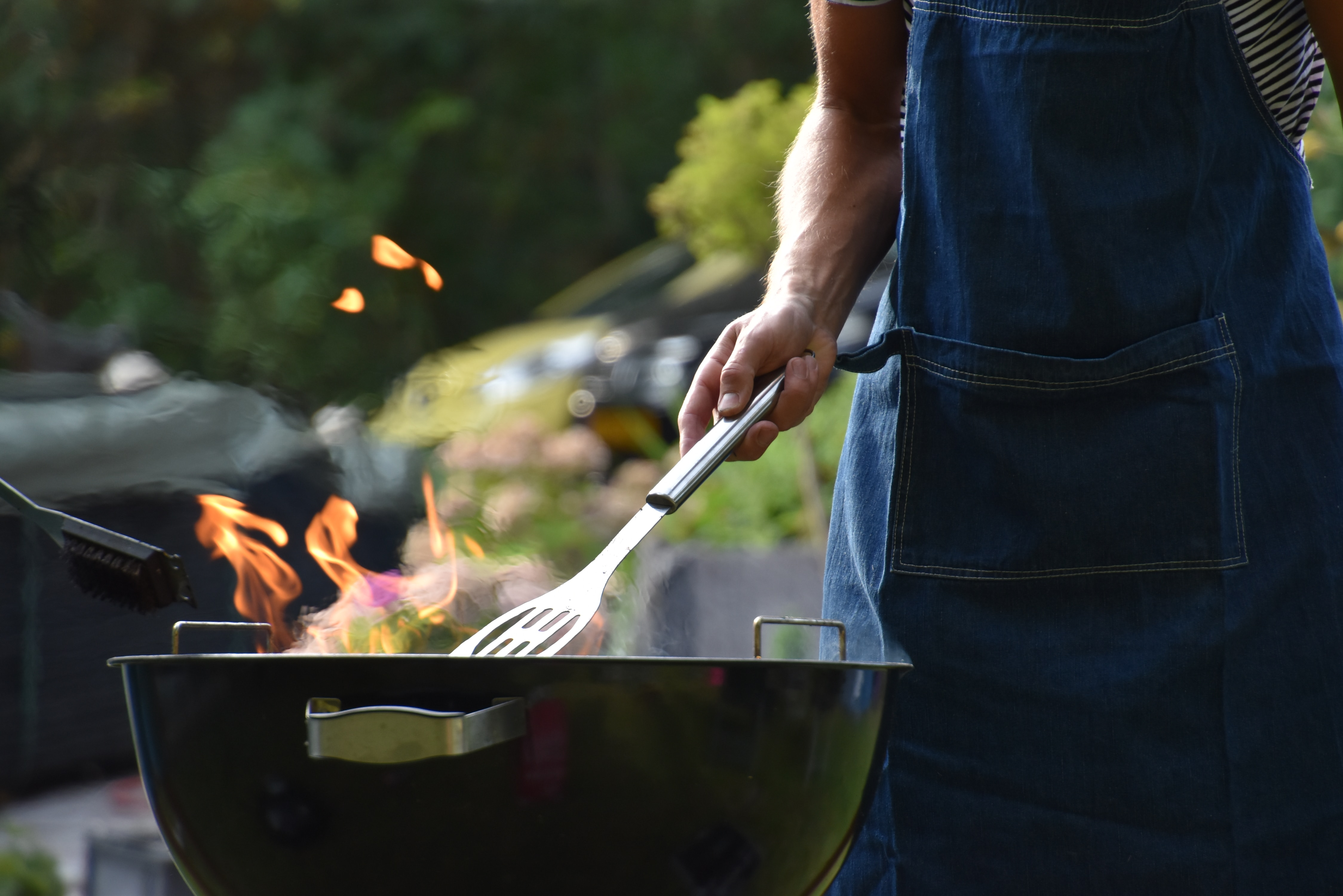 Barbecue Rather Than Bake or Fry Your Turkey