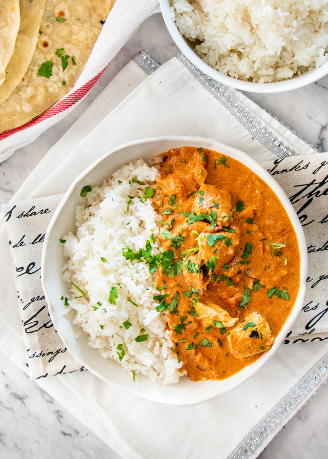 A Healthy Spin on Chicken Tikka Masala…in the Instant Pot