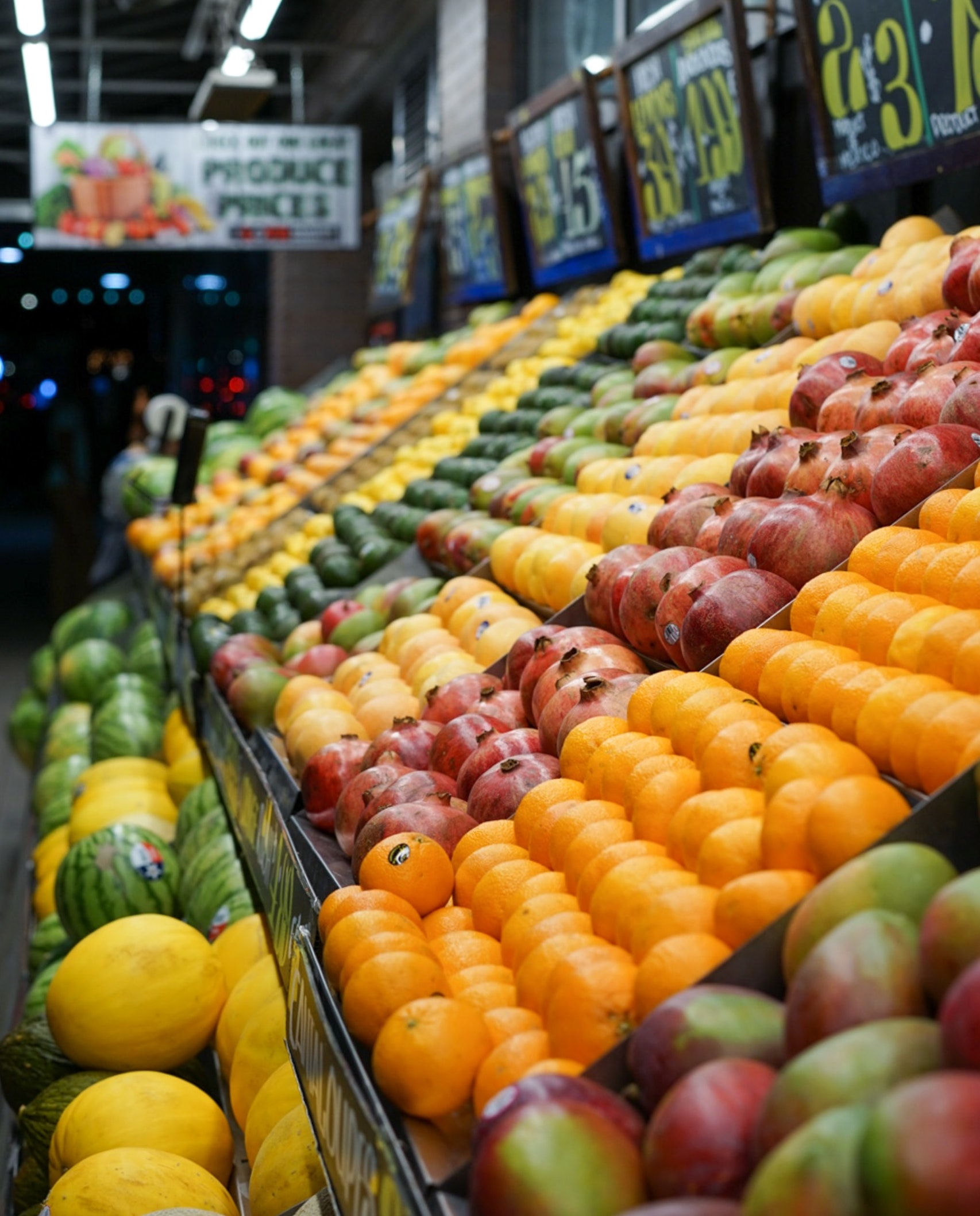 Shopping for Fruits and Vegetables During a Pandemic