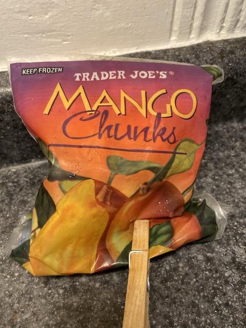 bag of mangos