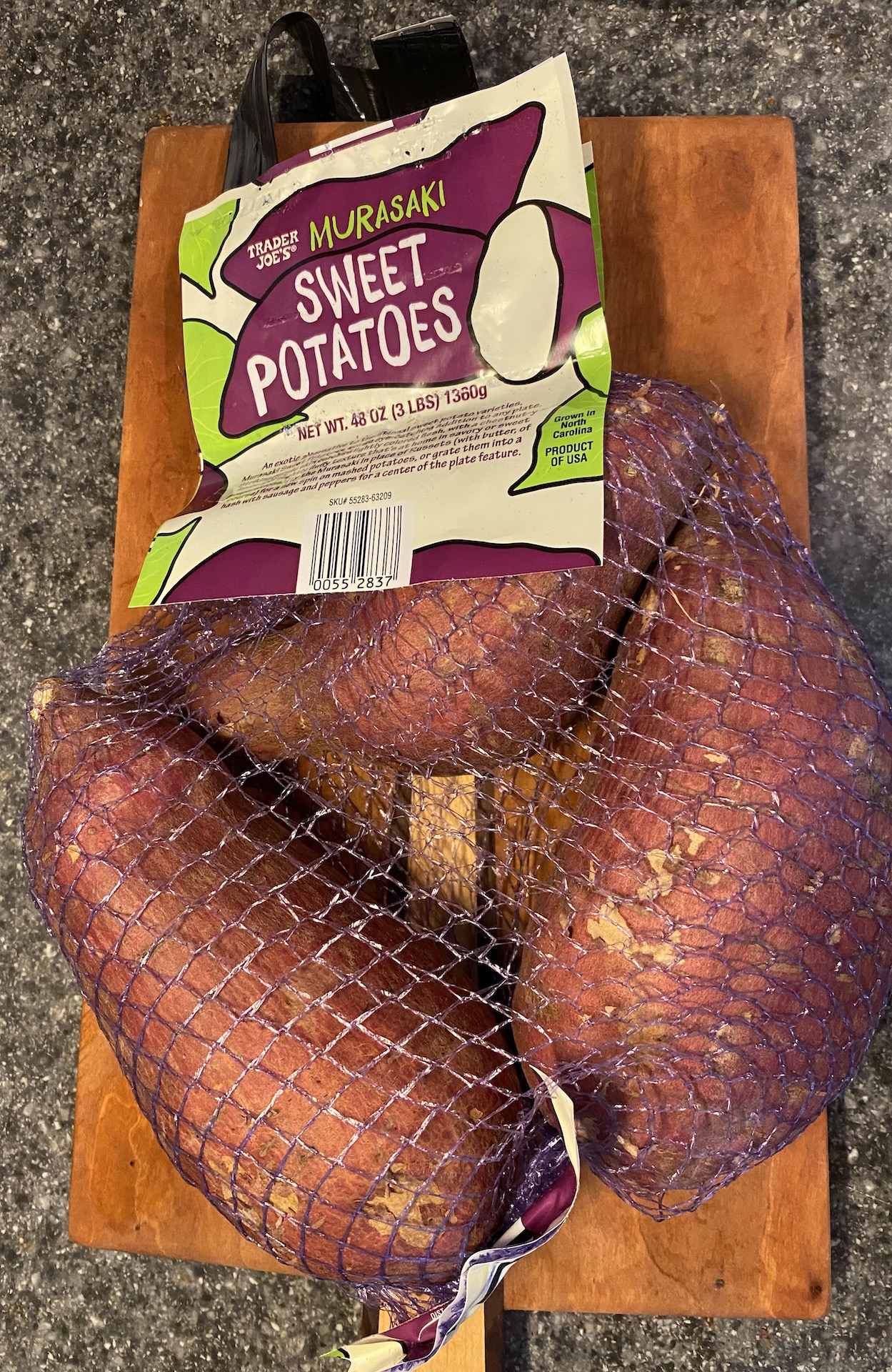 Crinkle-Cut Oven Fries with Japanese Sweet Potatoes